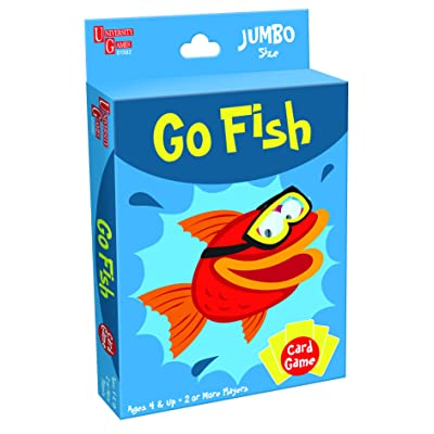 Go Fish Card Game: Toys & Games