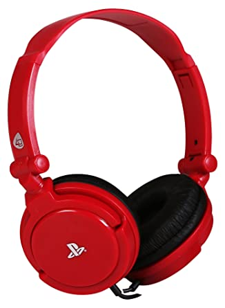 PRO4-10 Officially Licensed Stereo Gaming Headset - Red (PS4/PSVita
