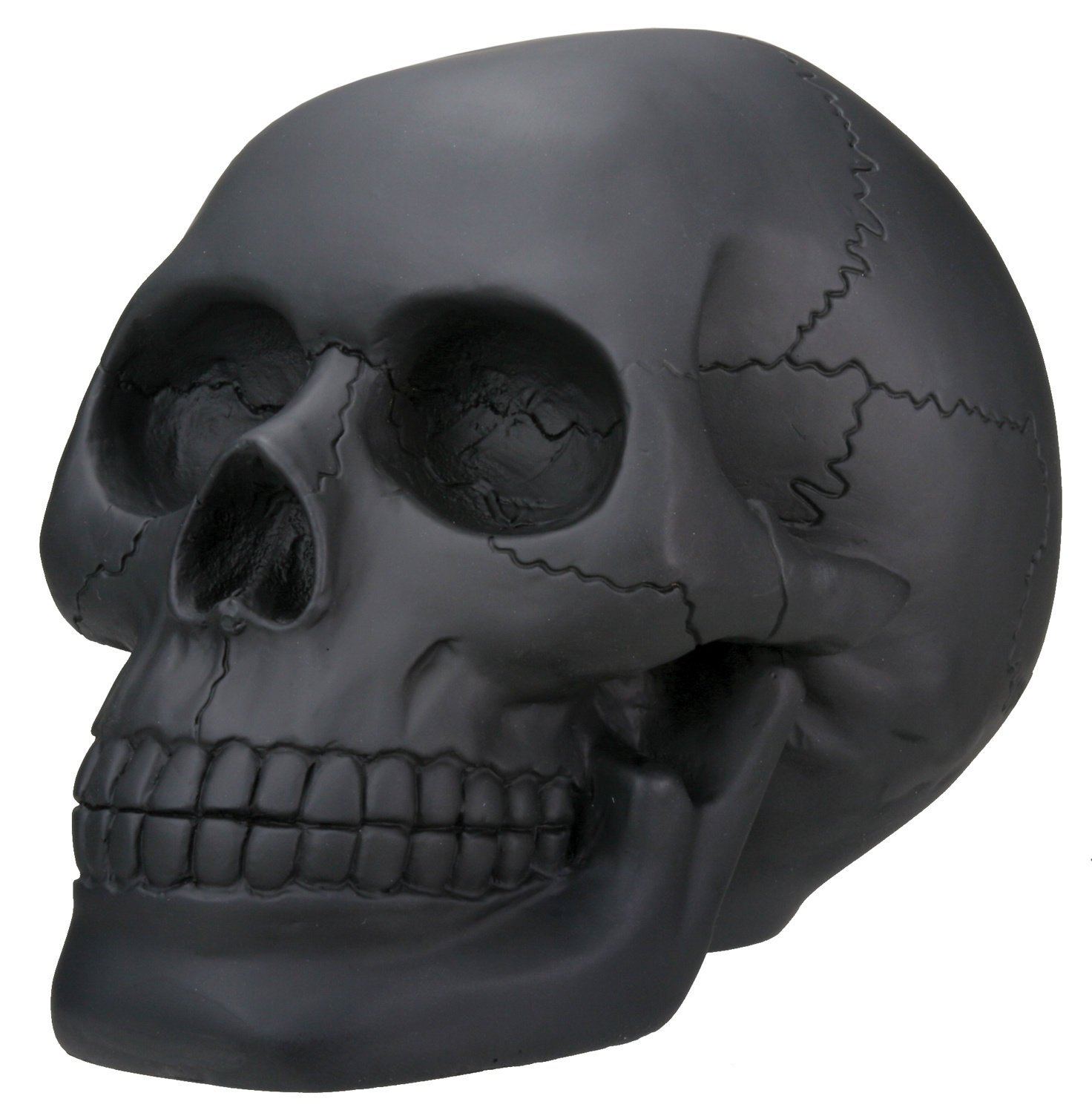 Black skull chair - Amazon Com Black Skull Head Collectible Skeleton Decoration Statue Home Kitchen
