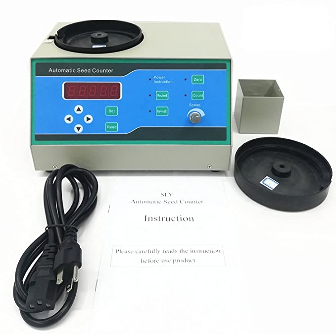Amazon.com: MXBAOHENG Sly-C Good Automatic Seed Counter Machine for Various Shapes Seeds 220V/110V (220V): Home & Kitchen