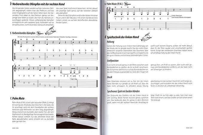 Let s Rock para guitarra eléctrica/Tab - Peter autsch Bachs Nueva guitarra Escuela con CD, púa - Todas las técnicas Que Necesitas, para zapatos en una ...