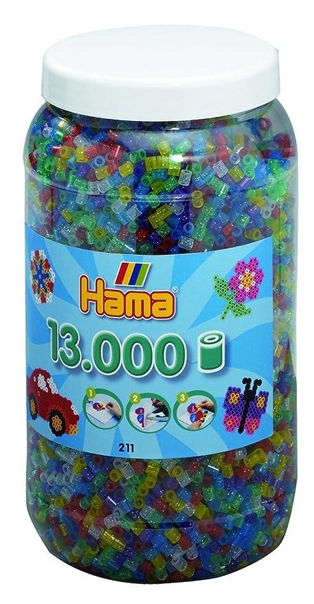 Perlen Grün 1.000 Stück GroßE Sorten Hama Perlen Bügelperlen