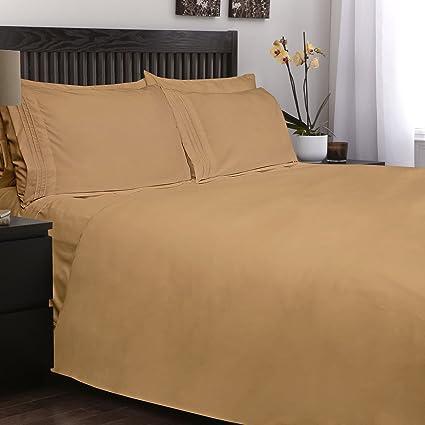 Etonnant Golden Linen Highest Quality Ultra Soft 4 Piece Eco Friendly Deep Pocket  Bamboo Bed Sheets