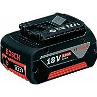 Bosch Professional GBA 18 V 5,0 Ah M-C, 18 V Akkuspannung, 5 Ah Akkukapazität, 620 g Gewicht