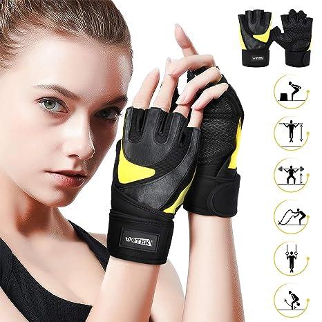 Trainingshandschuhe Fitnesshandschuhe Sport Fitness Gym Damen Herren Handschuhe