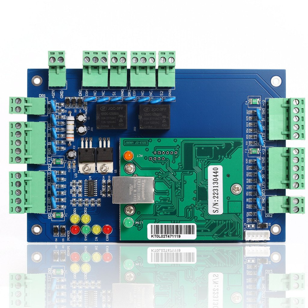 UHPPOTE Enhanced Alarm Output Fire Control Expansion Panel Board For Access Controller UT0311-01A