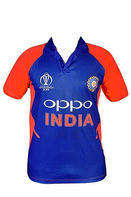 f39f9a55e GOLDEN FASHION Unisex India Cricket Jersey Away KIT 2019 World Cup Jersey