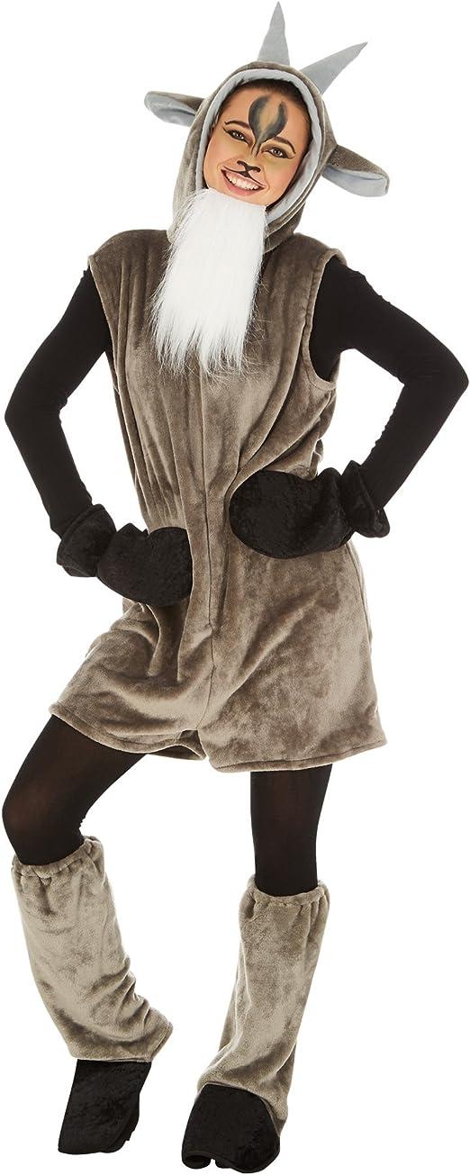 TecTake dressforfun Disfraz de Cabra para Hombre Mujer | Divertido ...