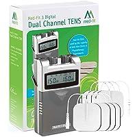 Med-Fit 3 Electrostimulador Máquina TENS digital 2 canales. Alivio rápido y eficaz del…