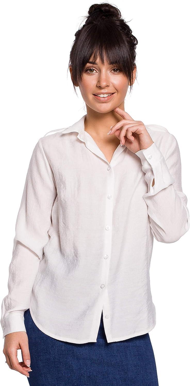 Camisa con Hombreras - Blanco: Amazon.es: Ropa y accesorios
