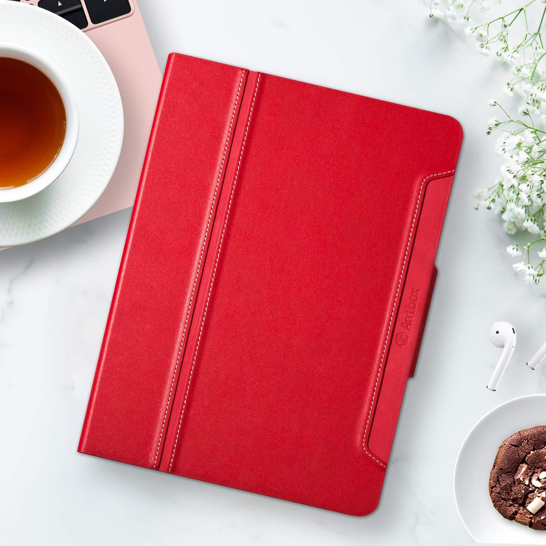 Antbox H/ülle f/ür iPad Air 3 2019 10.5 Zoll//iPad Pro 10.5 2017 mit Apple Pencil Halter Auto Schlaf//Wach Funktion PU Ledertasche Schutzh/ülle Smart Cover f/ür iPad 10.5 2019//2017