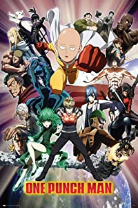 Pyramid America One Punch Man Group Shot Cool Wall Decor Art Print Poster 24x36
