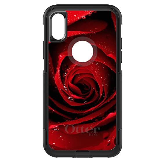 53b3da7cc062ce Image Unavailable. Image not available for. Color  DistinctInk Case for  iPhone X XS (NOT Max) - OtterBox Commuter Black Custom