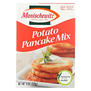 Manischewitz Potato Pancake Mix, 6-ounce Boxes (Pack of 12)