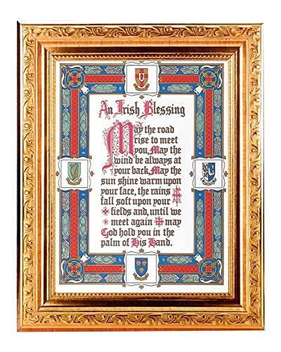 Amazoncom Hrt001 Irish Blessing 825 X 1025 Overall Dimensions