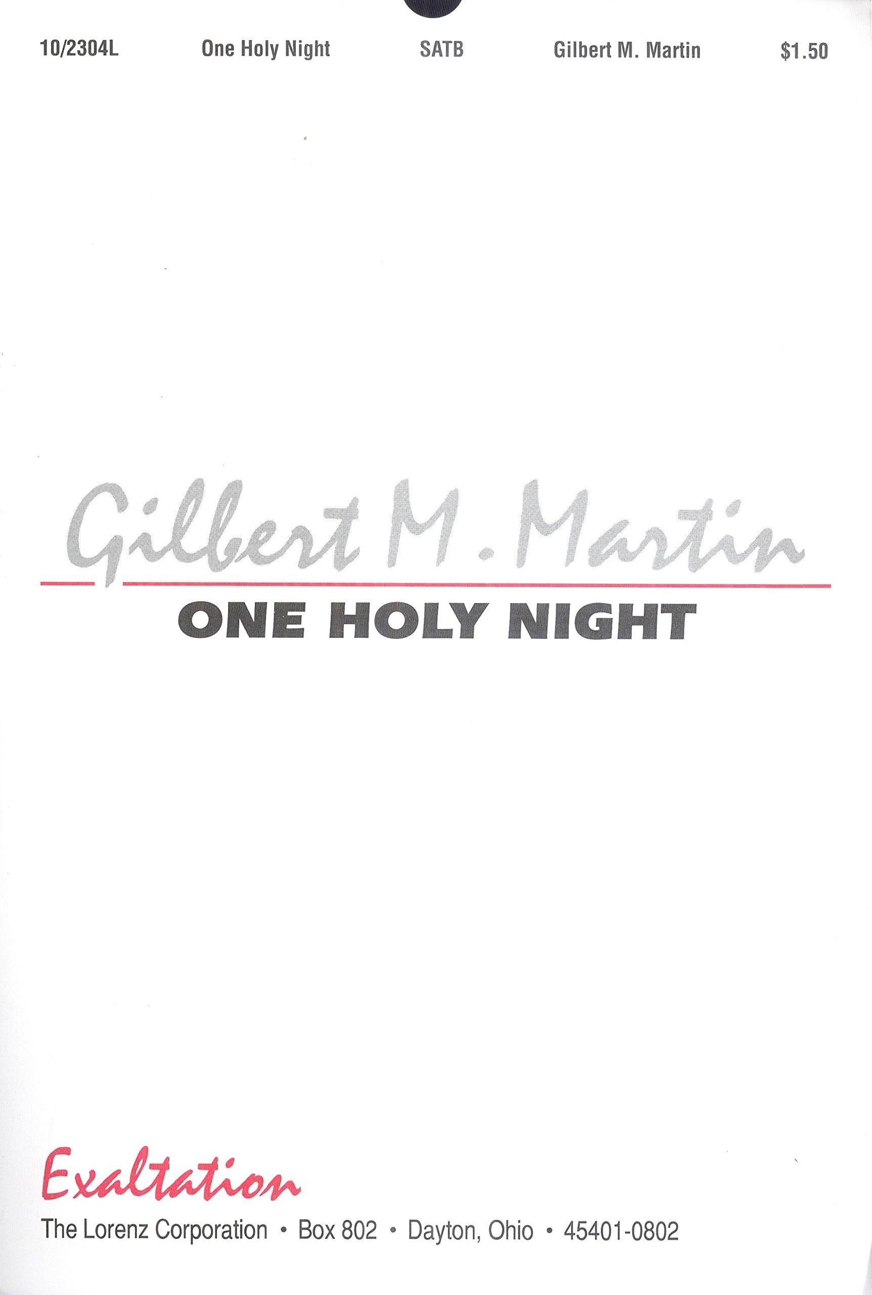 Download One Holy Night (Sacred Anthem, SATB) PDF