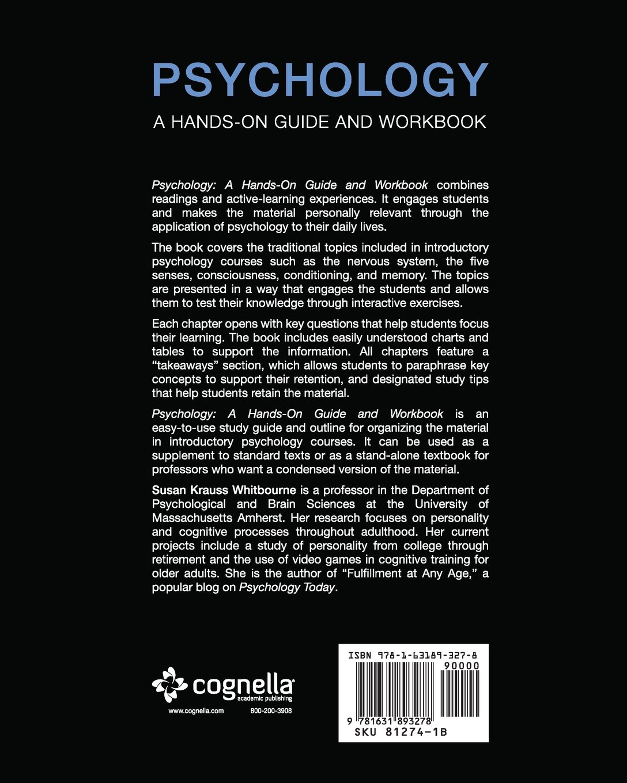 Workbooks psychology workbook : Psychology: A Hands-On Guide and Workbook: Susan Krauss Whitbourne ...