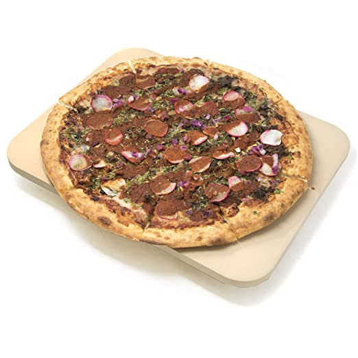 Alpha Living - Piedra de Pizza para Horno o Parrilla (30, 5 x 38 ...