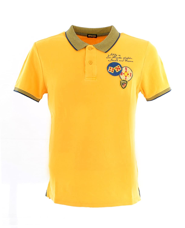Blauer - Polo - para hombre Amarillo amarillo XL: Amazon.es: Ropa ...