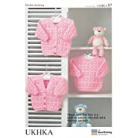 Stylecraft Double Knit Pattern - UKHKA 87 Cardigans and Sweaters