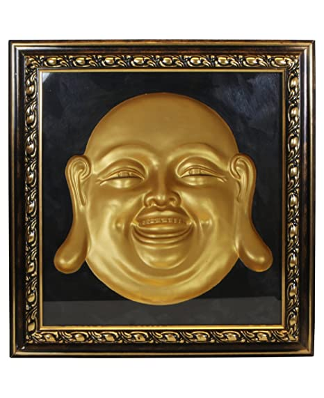 3D Happy Buddha Concave Wall Sculpture: Amazon.co.uk: Kitchen & Home