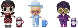 L.O.L. Surprise! Boys Character Doll Series 3 with 7 Surprises Including Random Exclusive LOL Boys Doll (Anatomically Correct), Bottle, Accessory, Secret Message, Stickers, Shoes | Ages 4+