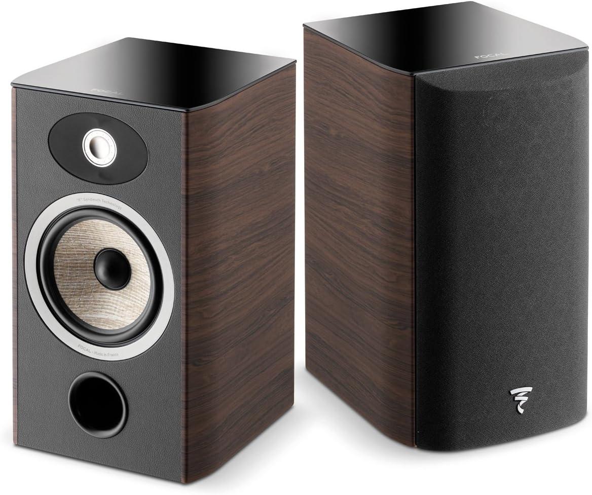 Focal Aria 906 Bookshelf Speaker – Pair Dark Walnut