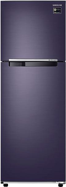 Samsung 275 L 3 Star Frost Free Double Door Refrigerator RT30M3043UT, Pebble blue, Inverter Compressor  Refrigerators