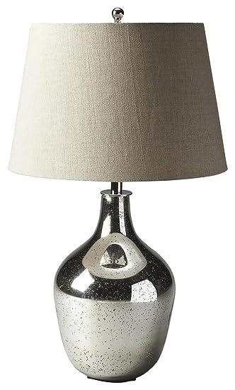 Amazon.com: Butler Hors doeuvres Mercurio lámpara de mesa ...