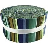 Stoff Freiheit grün Envy Freiheit Rolle, 100% Baumwolle, mehrfarbig, 13x 13x 7cm