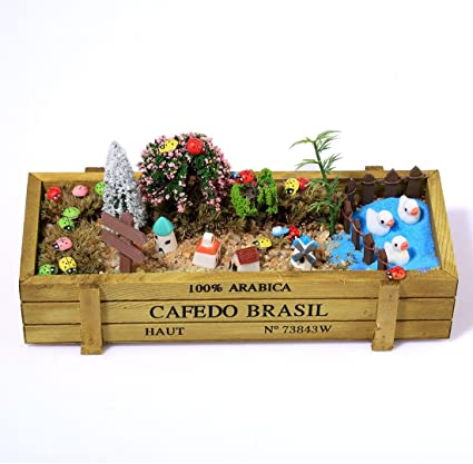 Dollhouse Miniature Large Colorful Garden Soil Bag