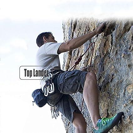 50m Estática Rock Escalada de Cuerda, 10mm de la Pared del ...
