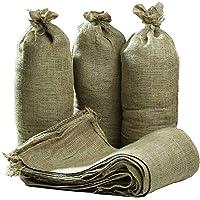 Sacos de arpillera con Lazos de Cierre, 750x