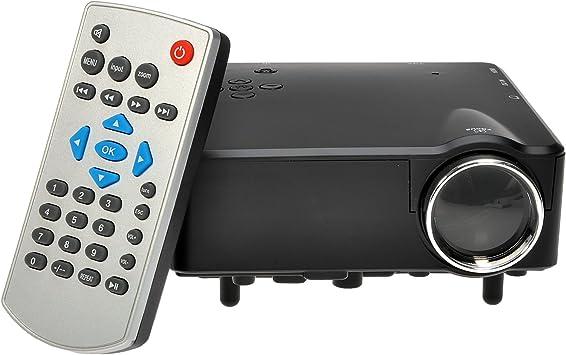 Mini H80 Full HD 1080P LCD LED Proyector 80LM 640*480 de ...