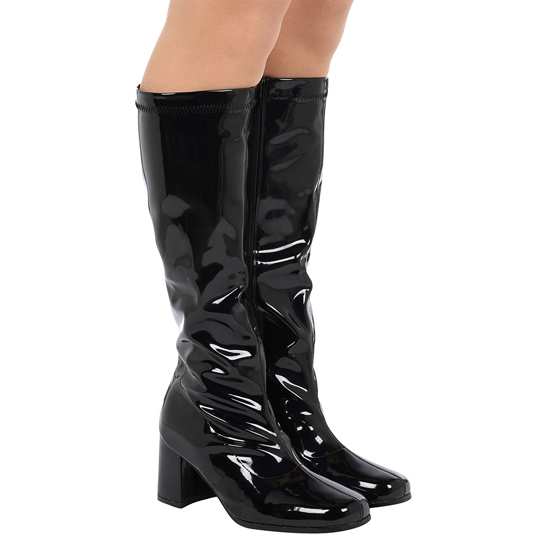 Buckle Shoes - Botas XL Mujer, Color Blanco, Talla 37 1/3