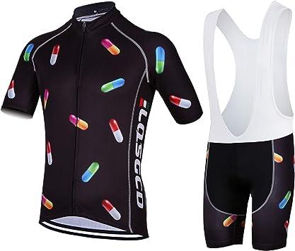 Maillot Ciclismo Corto De Verano para Hombre, Maillot Ciclismo + ...