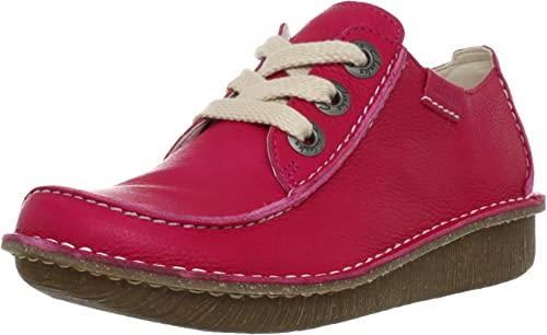 Clarks Funny Dream Lace-Ups Womens Pink