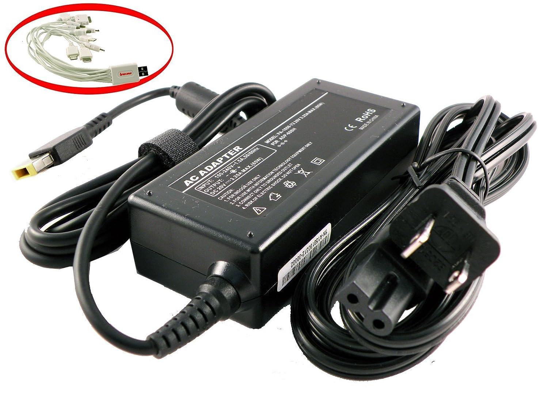 iTEKIRO 65W AC Adapter for Lenovo Ideapad 300, 300S, 500, 500S, 300-14, 300-15, 300S-14, 300S-15, 500-14, 500-15, 500S-14ISK, 500S-15ISK; ThinkPad ...