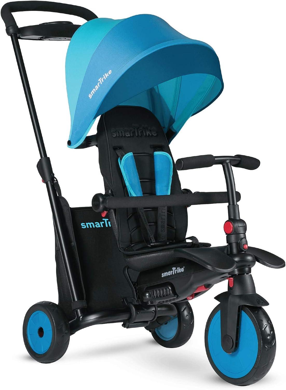 TP Toys 8482 Blue Smartrike Smartfold 500 Azul, Color Blanco, 100 x 48 x 97cm(HxWxL)