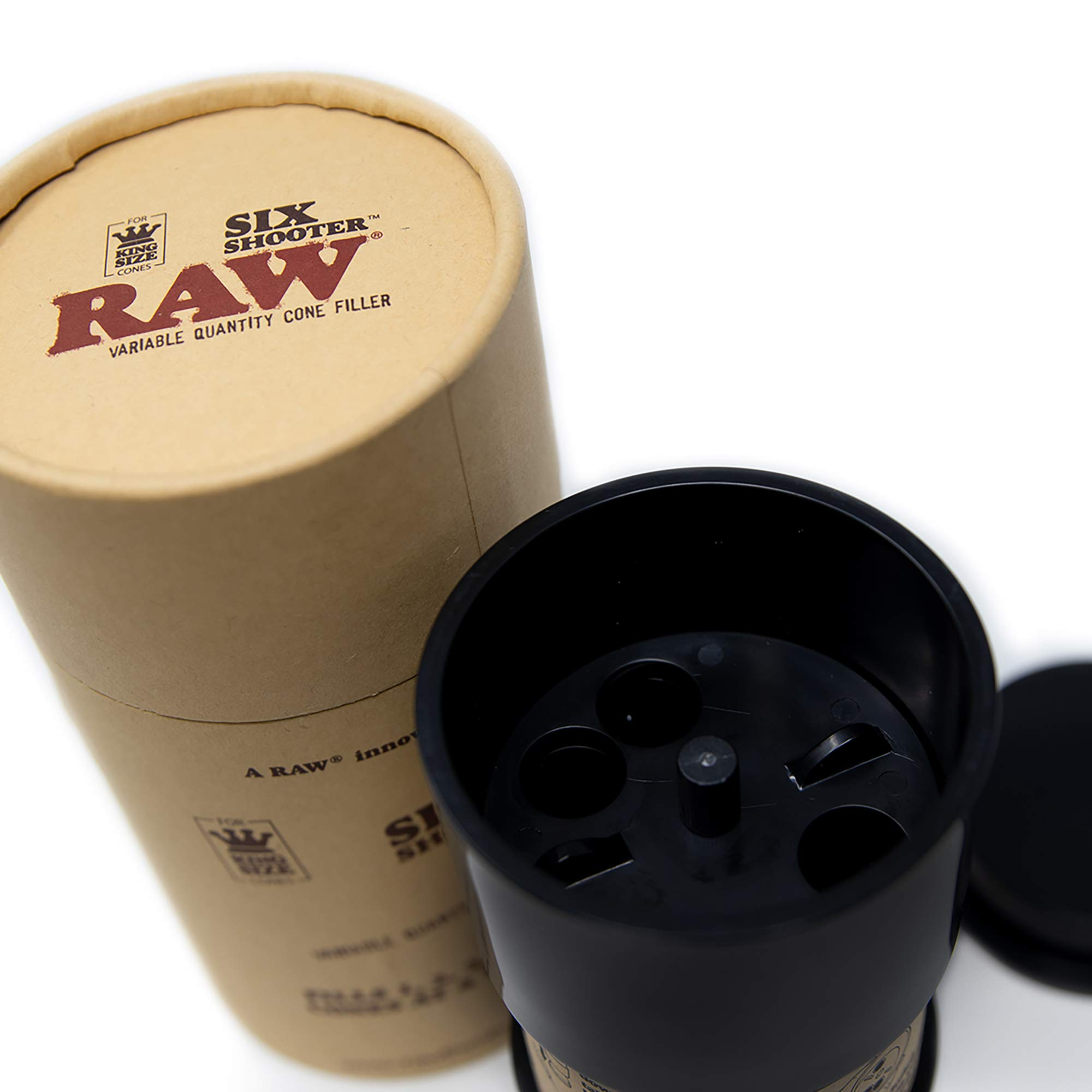 RAW Six Shooter | Cone Loader Filling Device | Fills 1,2,3, or 6 Cones at a Time! by RAW