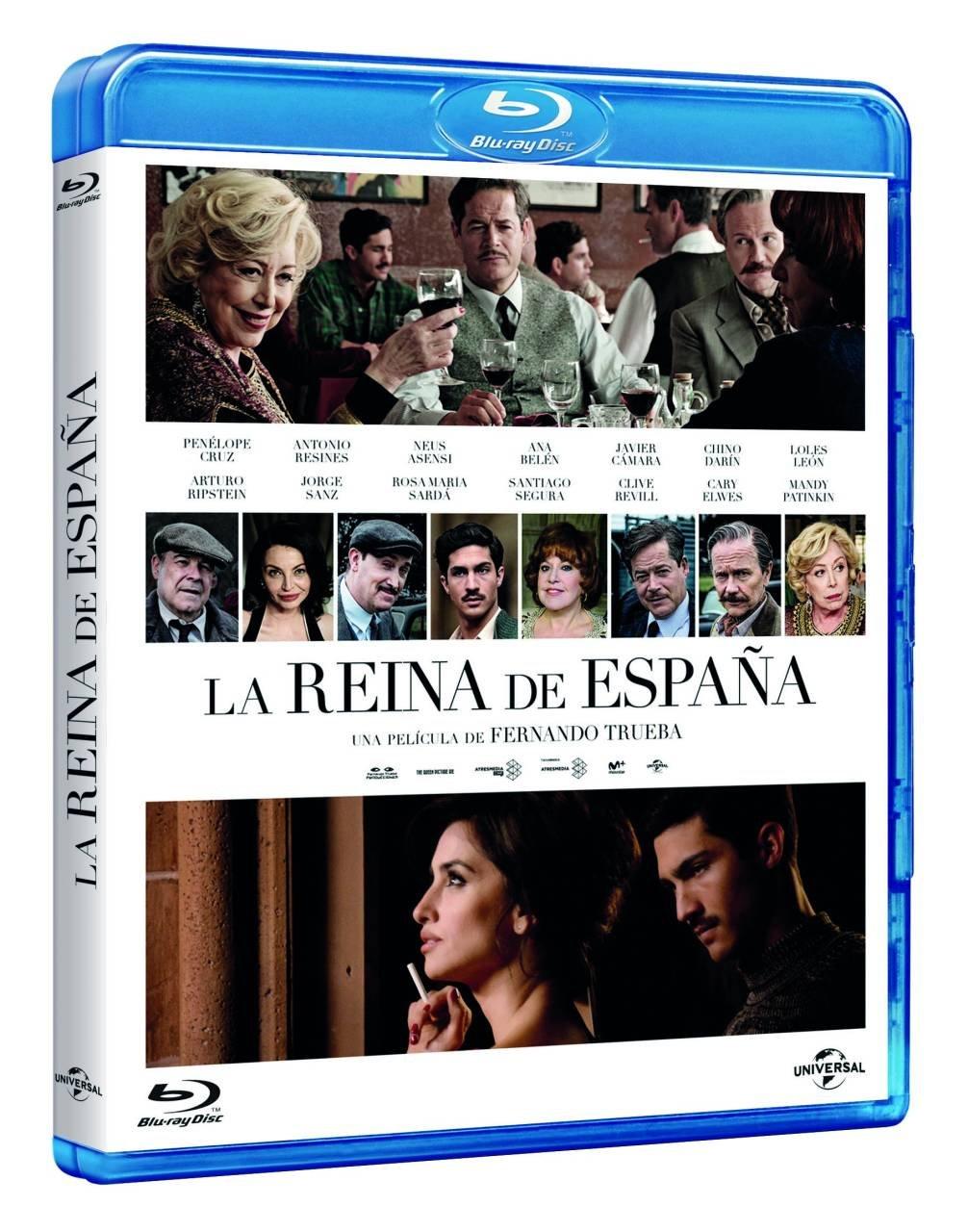 La Reina De España [Blu-ray]: Amazon.es: Penélope Cruz, Cary Elwes ...