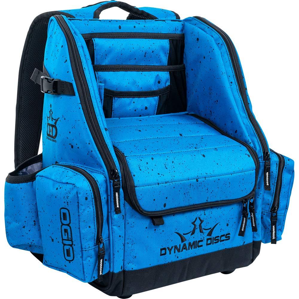 Dynamic Discs Commander Disc Golf Bag (Splatter Blue)