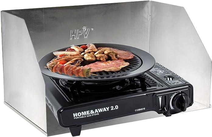 Home & Away 2.0 Cocina a gas portátil con placas de aluminio ...