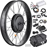 "AW 22.5"" Electric Bicycle Front Wheel Frame Kit For 26"" 48V 1000W 470RPM E-Bike"