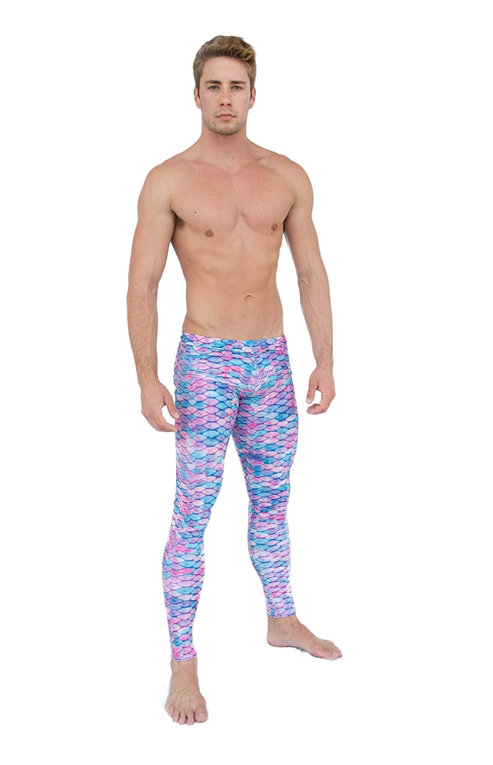 Mertailor Mens Leggings Jellyfish Dream)