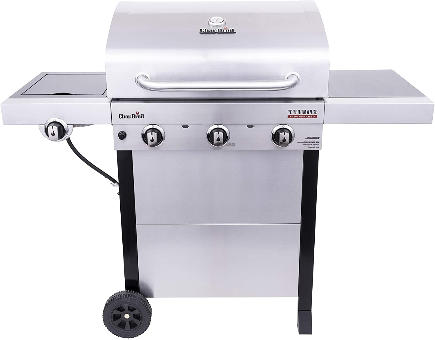 Best infrared grill-Best stainless: Char-Broil 463370719 infrared gas grills