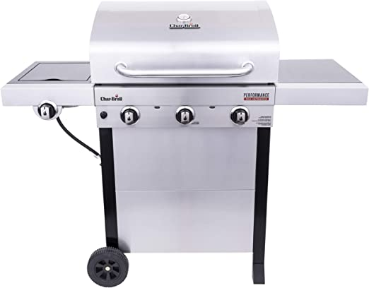 Amazon.com: Char-Broil 463370719 - Parrilla de gas con 3 ...