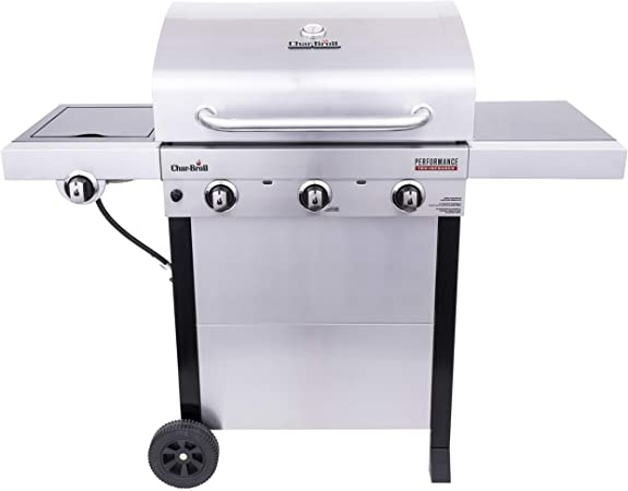 Char-Broil Tru-Infrared 3-Burner Gas Grill, Stainless Steel - Infrared Technology
