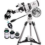 Gskyer Telescope, Telescopes for Adults, 80mm AZ Space Astronomical Refractor Telescope, Telescope for Kids, Telescopes for A