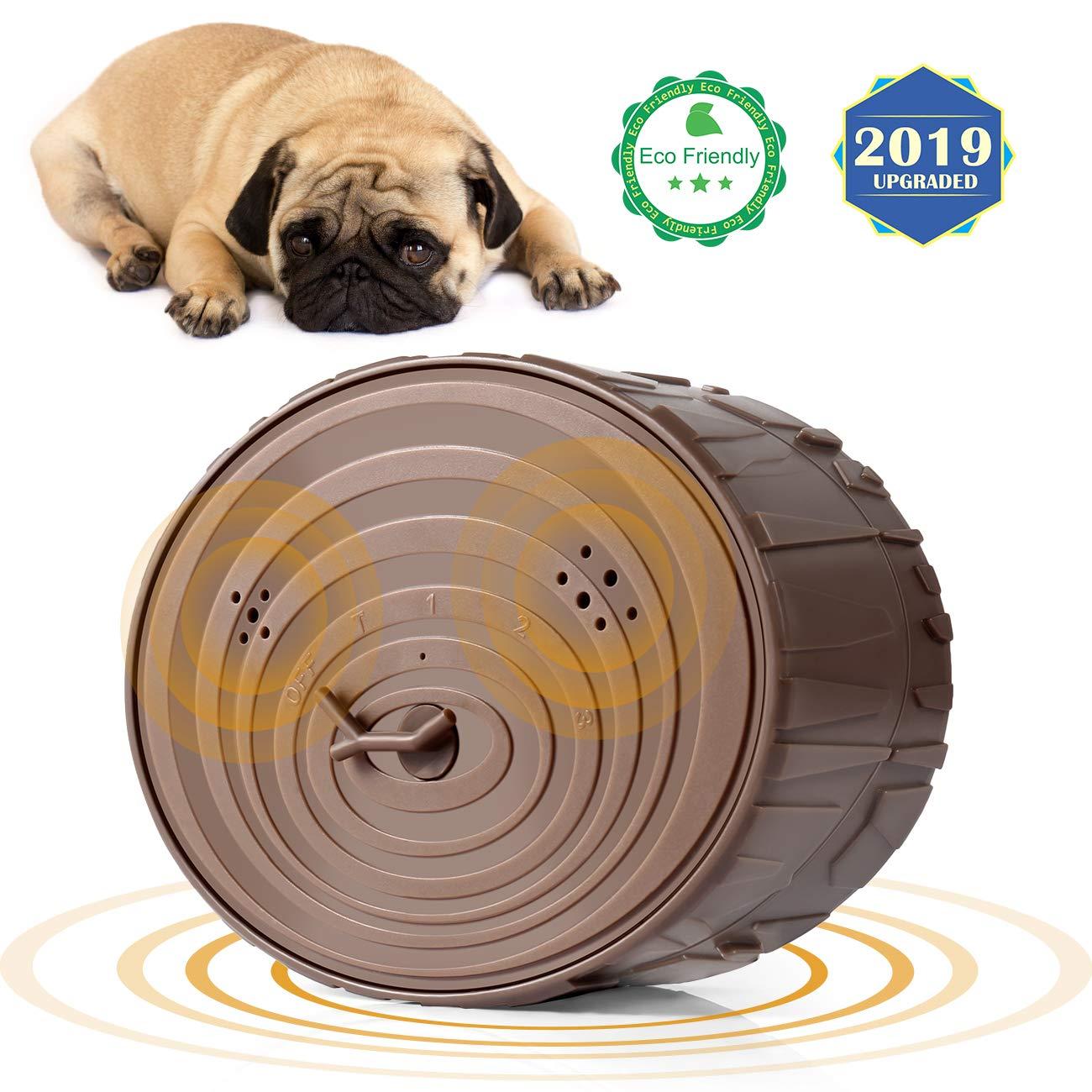 Lambow Anti Barking Device, Ultrasonic Dog Bark Control Sonic Bark Deterrents Silencer Stop Barking Bark Stop Repeller